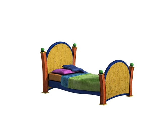 kreslená postel