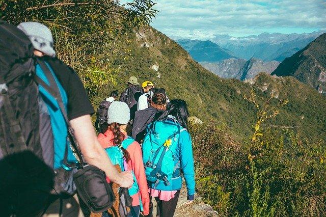 turisti v horách