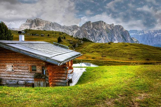bydlení v horách