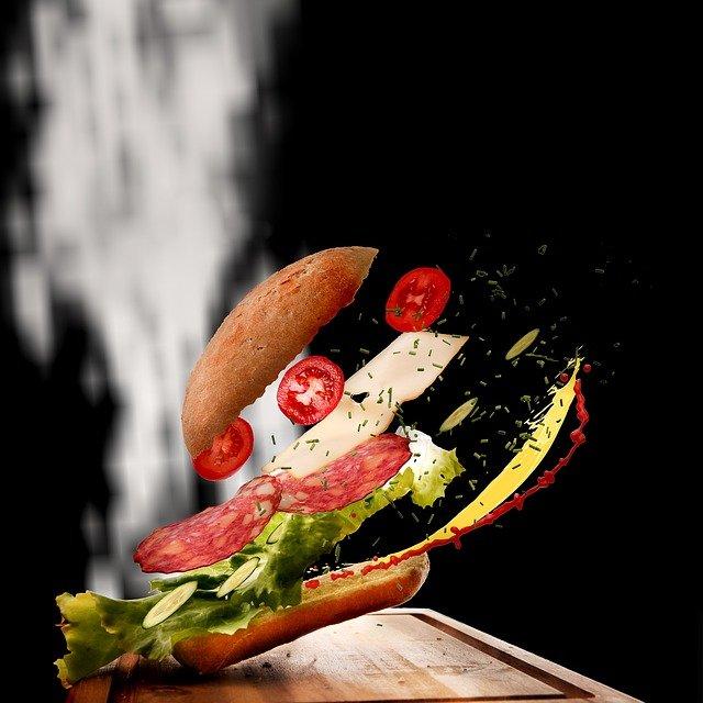 jídlo a hubnutí