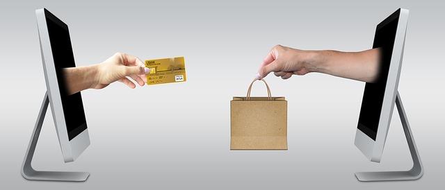 platba kartou za nákup