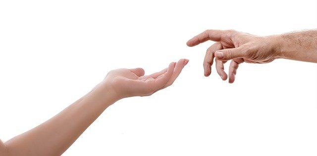 nabídnutá ruka
