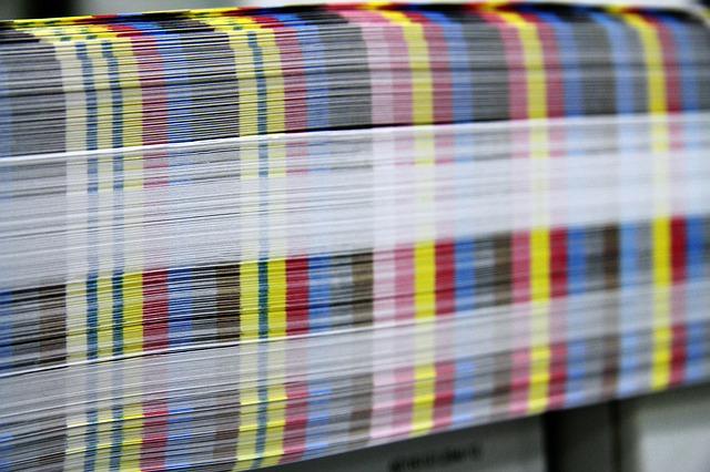 barevné výtisky