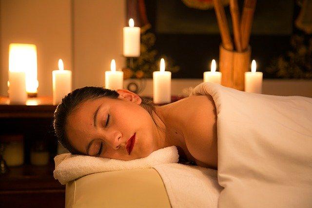 relaxace s masáží